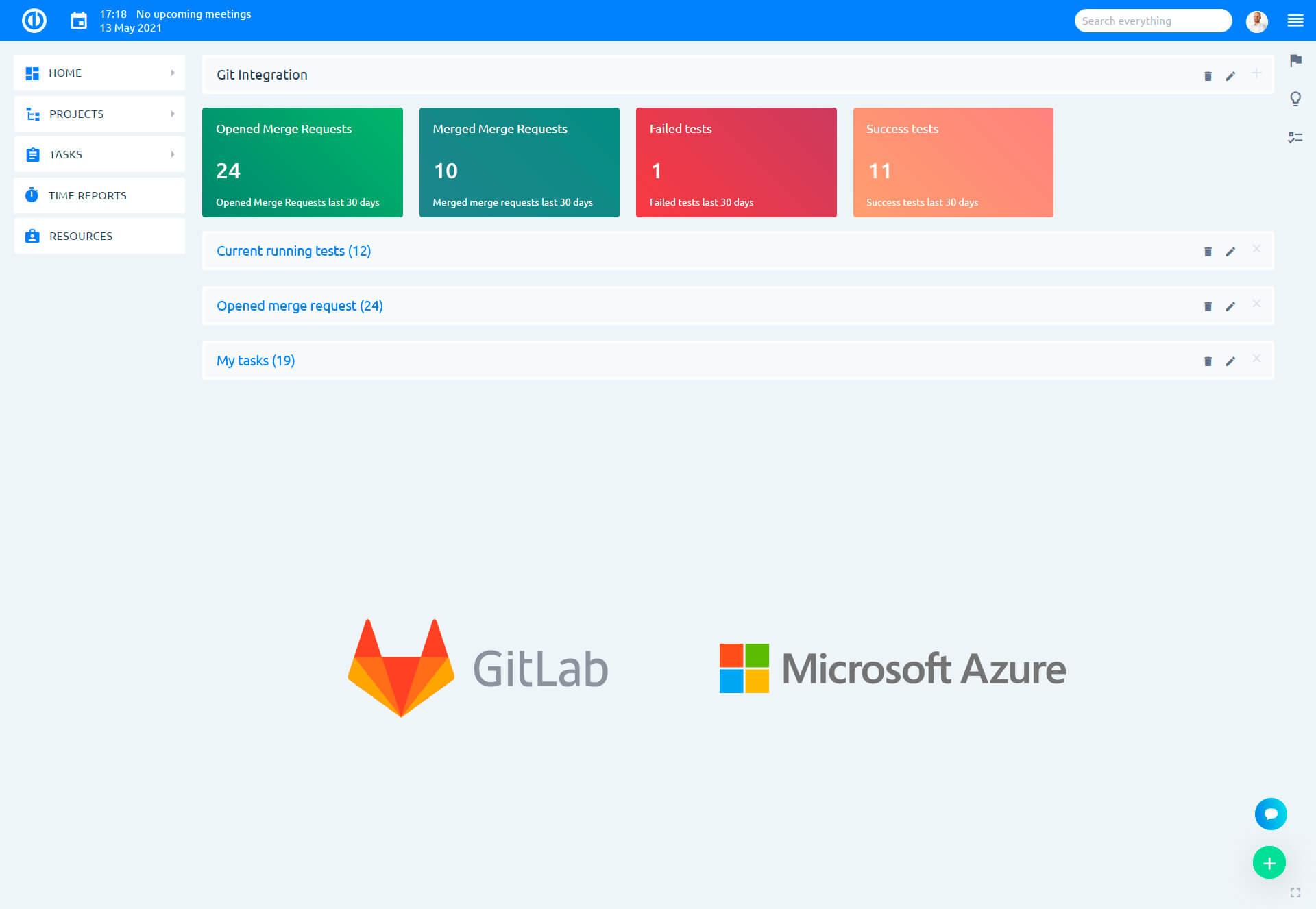 쉬운 Redmine GitLab, Azure